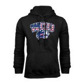 Black Fleece Hoodie-Stars and Stripes