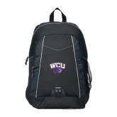 Impulse Black Backpack-WCU w/Head