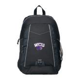 Impulse Black Backpack-WCU w/Head