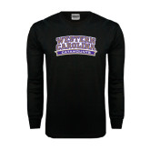 Black Long Sleeve TShirt-Western Carolina Catamounts