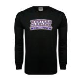 Black Long Sleeve TShirt-Western Carolina Catamounts