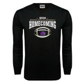Black Long Sleeve TShirt-Homecoming 2016