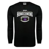 Black Long Sleeve TShirt-Homecoming 2016