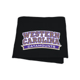 Black Sweatshirt Blanket-Western Carolina Catamounts