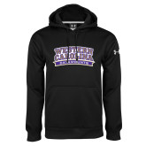 Under Armour Black Performance Sweats Team Hoodie-Western Carolina Catamounts