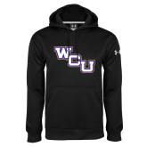 Under Armour Black Performance Sweats Team Hoodie-WCU