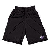Midcourt Performance Black 9 Inch Game Short-WCU w/Head