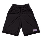 Midcourt Performance Black 9 Inch Game Short-Western Carolina Catamounts