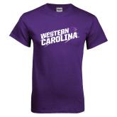 Purple T Shirt-Western Carolina Slashes