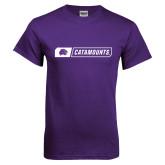 Purple T Shirt-Catamounts in Box