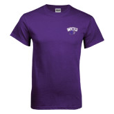 Purple T Shirt-WCU w/Head