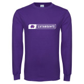 Purple Long Sleeve T Shirt-Catamounts in Box