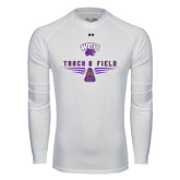 Under Armour White Long Sleeve Tech Tee-Track and Field Shoe Design