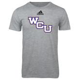 Adidas Sport Grey Logo T Shirt-WCU