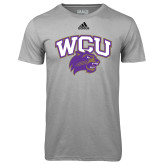 Adidas Climalite Sport Grey Ultimate Performance Tee-WCU w/Head