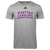 Adidas Climalite Sport Grey Ultimate Performance Tee-Western Carolina Catamounts