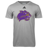 Adidas Climalite Sport Grey Ultimate Performance Tee-Catamount Head
