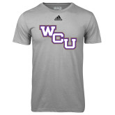 Adidas Climalite Sport Grey Ultimate Performance Tee-WCU