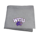 Grey Sweatshirt Blanket-WCU w/Head
