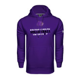 Under Armour Purple Performance Sweats Team Hood-Can You Dig It - Volleyball Design