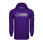 Under Armour Purple Performance Sweats Team Hood-Soccer