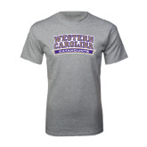 Grey T Shirt-Western Carolina Catamounts