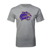 Sport Grey T Shirt-Catamount Head