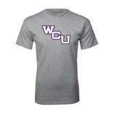 Grey T Shirt-WCU