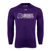 Under Armour Purple Long Sleeve Tech Tee-Alumni