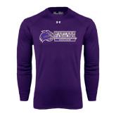 Under Armour Purple Long Sleeve Tech Tee-Soccer