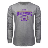 Grey Long Sleeve T Shirt-Homecoming 2016