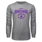 Grey Long Sleeve T Shirt-Homecoming 2016