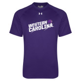 Under Armour Purple Tech Tee-Western Carolina Slashes