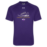 Under Armour Purple Tech Tee-Cross Country Shoe Design