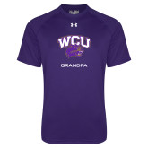 Under Armour Purple Tech Tee-Grandpa