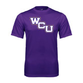 Performance Purple Tee-WCU