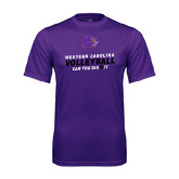 Performance Purple Tee-Can You Dig It - Volleyball Design
