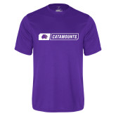 Performance Purple Tee-Catamounts in Box