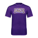 Performance Purple Tee-Western Carolina Catamounts