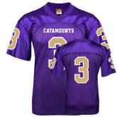 Replica Purple Adult Football Jersey-#3