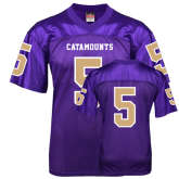 Replica Purple Adult Football Jersey-#5