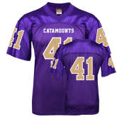 Replica Purple Adult Football Jersey-#41