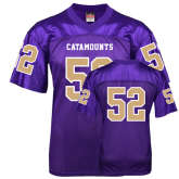 Replica Purple Adult Football Jersey-#52