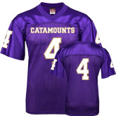 Replica Purple Adult Football Jersey-#4