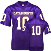 Replica Purple Adult Football Jersey-#10