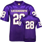 Replica Purple Adult Football Jersey-#28