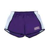 Ladies Purple/White Team Short-Western Carolina Catamounts