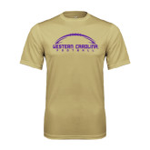 Syntrel Performance Vegas Gold Tee-Arched Football Design