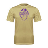 Performance Vegas Gold Tee-Tall Football Design