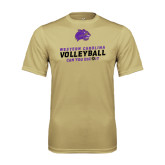 Syntrel Performance Vegas Gold Tee-Can You Dig It - Volleyball Design